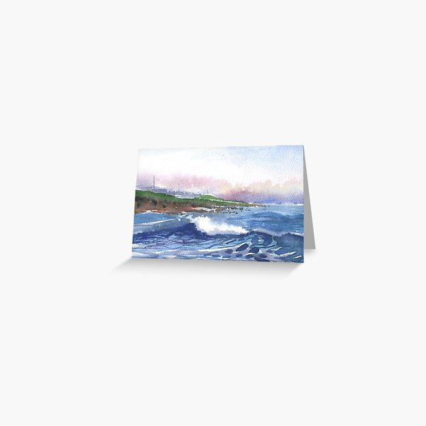 Backshore, Burghead 3, Moray, Scotland - 2011 Greeting Card