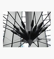 futuristic construction 2 Photographic Print