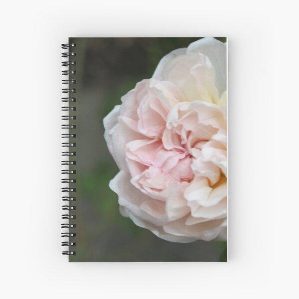 Wild Cottage Rose Spiral Notebook