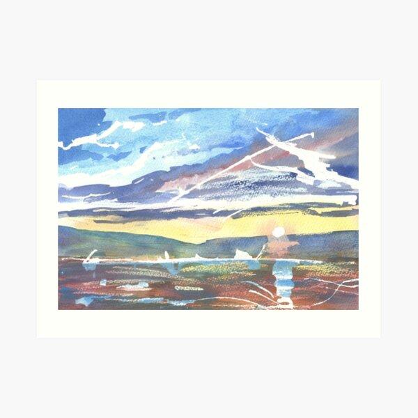 Burghead Bay 3, Moray Scotland - 2011 Art Print
