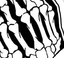 praying skeleton hands alternative art prints by zombiecraig redbubble. Black Bedroom Furniture Sets. Home Design Ideas