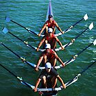 Flatwater Rowers by Laurie Minor