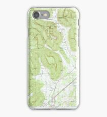 USGS TOPO Map Alabama AL Doran Cove 303699 1967 24000 iPhone Case/Skin