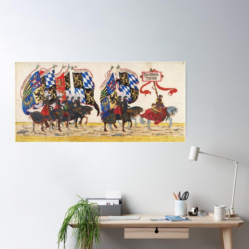 Triumphal Procession of Emperor Maximilian I, 1512 Poster