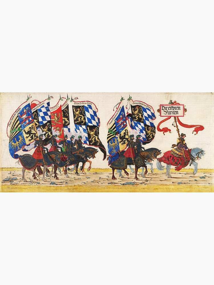 Triumphal Procession of Emperor Maximilian I, 1512 by edsimoneit