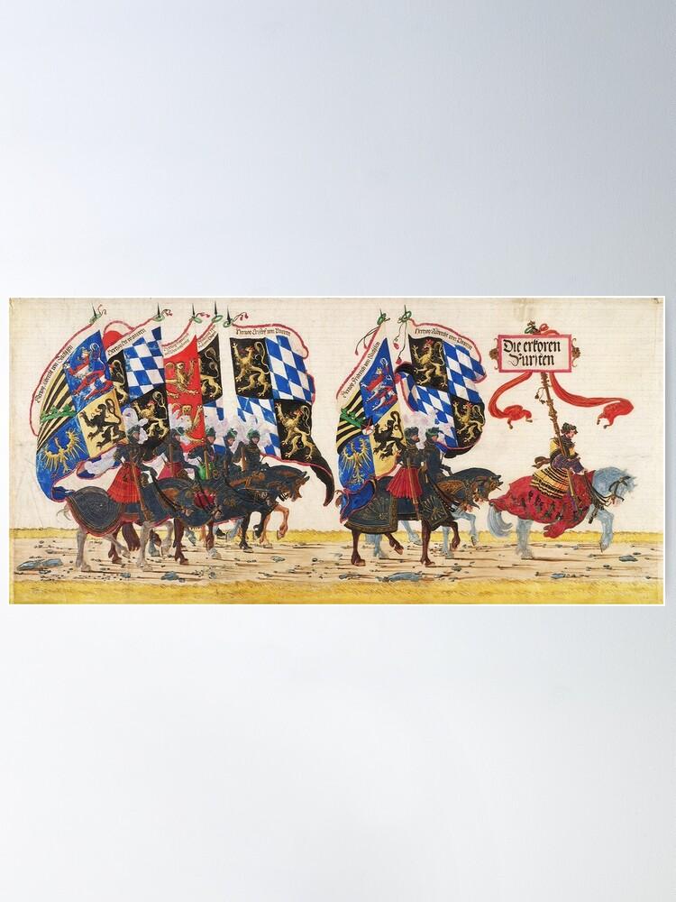 Alternate view of Triumphal Procession of Emperor Maximilian I, 1512 Poster