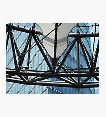 futuristic construction 6 (detail) Photographic Print