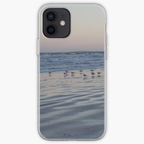 Winter Birds Coastal Sunset iPhone Soft Case