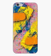 Yellow Slides / Negative Z by Larry Hefner iPhone Case