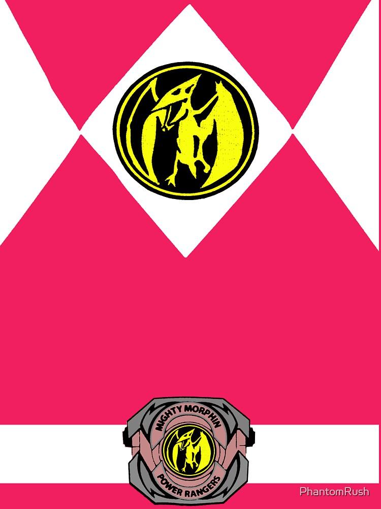 Pink Ranger   Women's T-Shirt