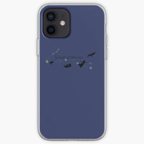 Never Grow Up iPhone Soft Case