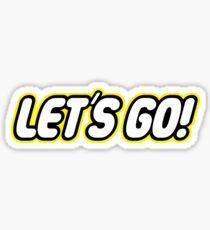 Let´s go! Sticker