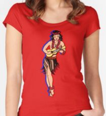 pin up Women's Fitted Scoop T-Shirt