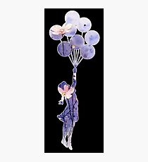 balloon girl Photographic Print
