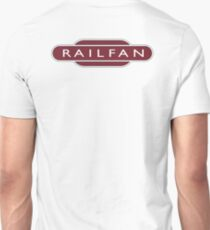 RAILFAN, RAIL, TRAINSPOTTER, enthusiast, Railway, Train, Train spotter, BRITISH RAILWAYS, SIGN T-Shirt