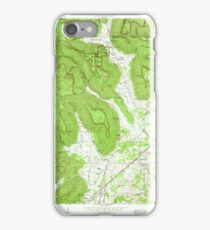 USGS TOPO Map Alabama AL Doran Cove 303698 1967 24000 iPhone Case/Skin