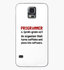 Programmierer Definition Hülle & Klebefolie für Samsung Galaxy