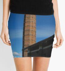 Old factory chimney Mini Skirt