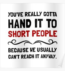Short People Poster