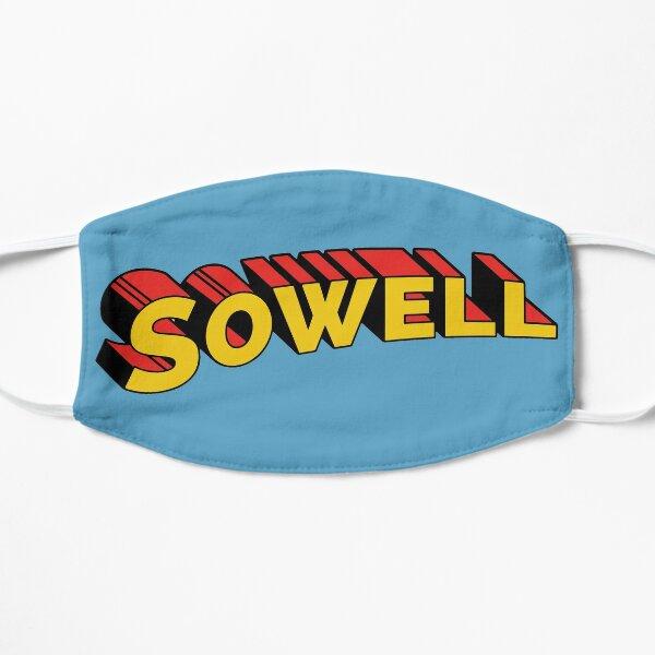 Superhero Thomas Sowell Flat Mask