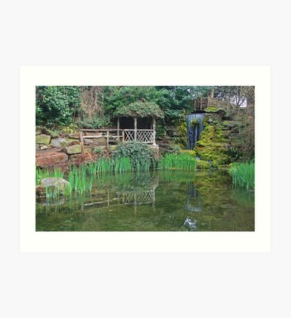 The Sunken Garden Art Print