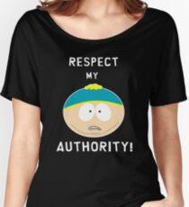 Cartman - Respect my authority Women's Relaxed Fit T-Shirt
