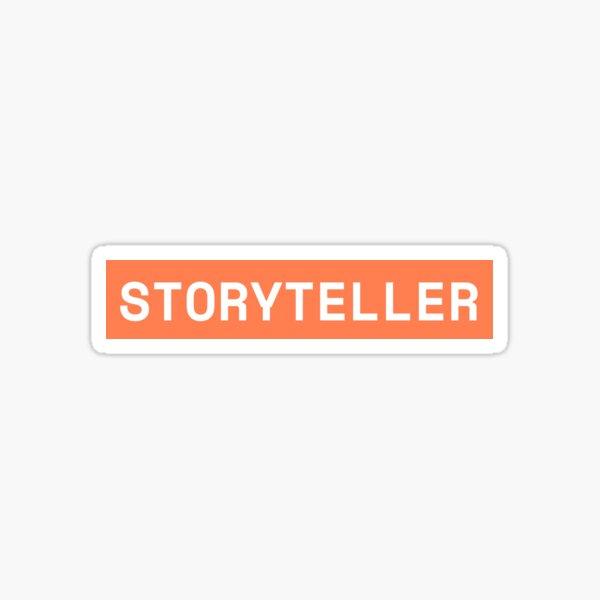 STORYTELLER: designer sticker pack Sticker