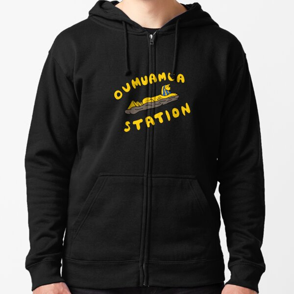 Oumuamua Sphinx Zipped Hoodie