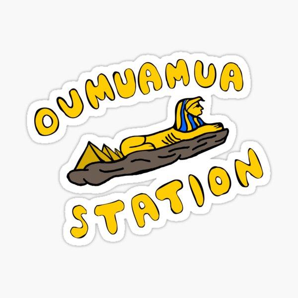 Oumuamua Sphinx Sticker