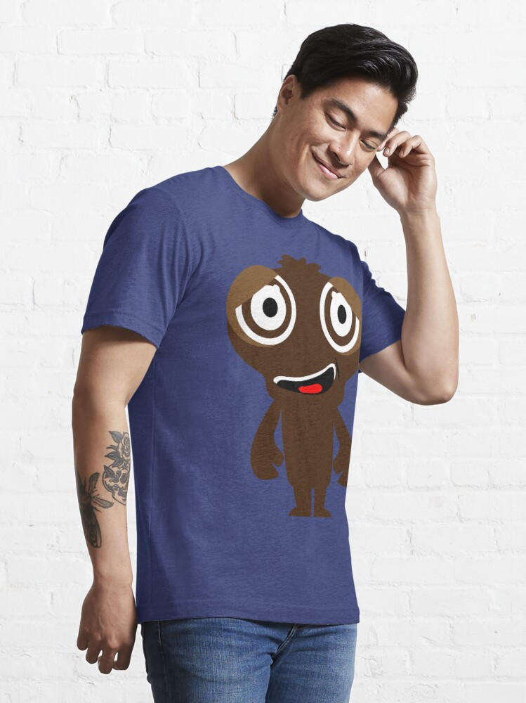Alternate view of Funny Crazy Face Colorful Funny Face Monster Smile Design Standard Essential T-Shirt