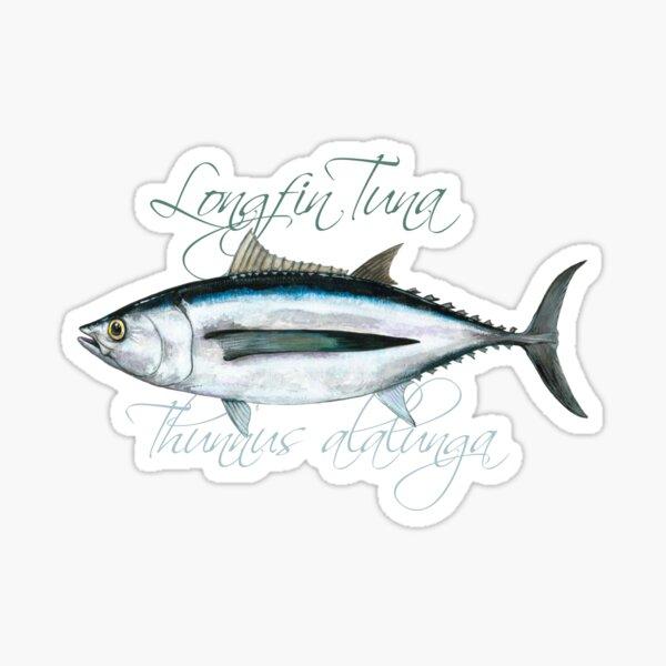 Albacore Tuna · Longfin · Thunnus alalunga Sticker