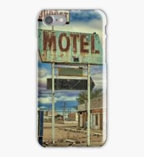Route 66 Budget Motel iPhone Case/Skin