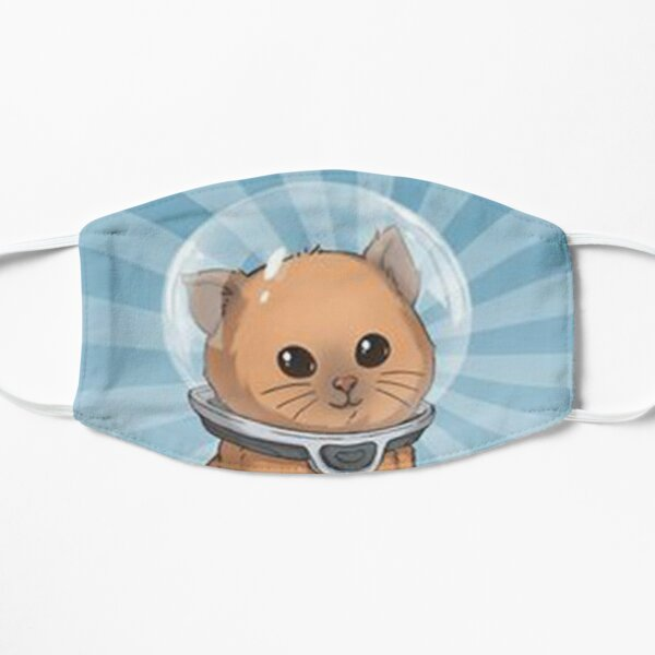 keep calm kitty Flat Mask