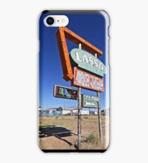 Route 66 Lasso Motel iPhone Case/Skin