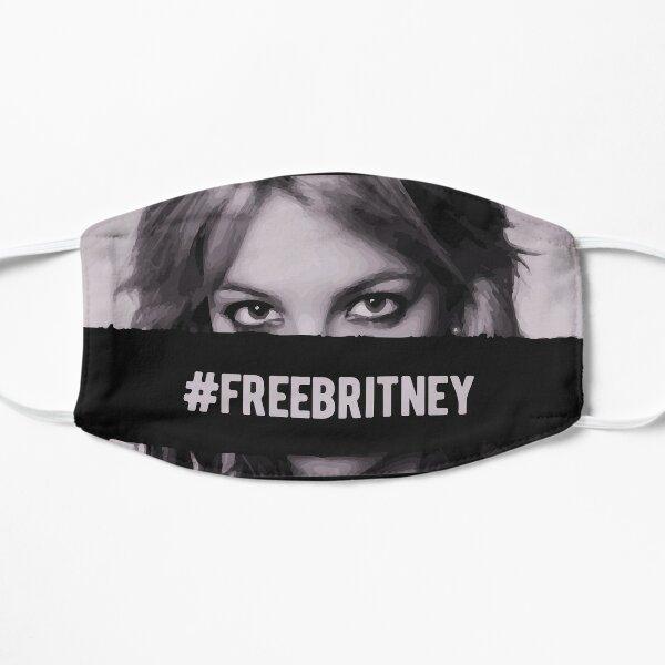 Free Britney #freebritney Flat Mask