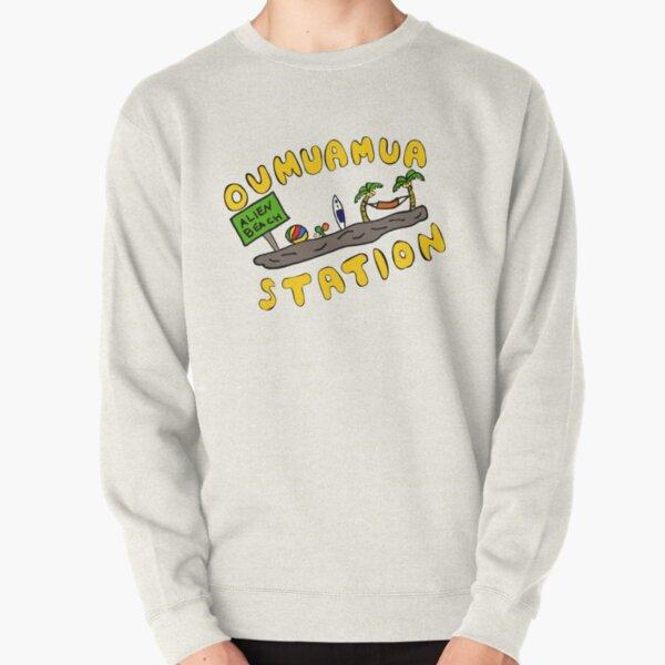 Oumuamua Beach Pullover Sweatshirt