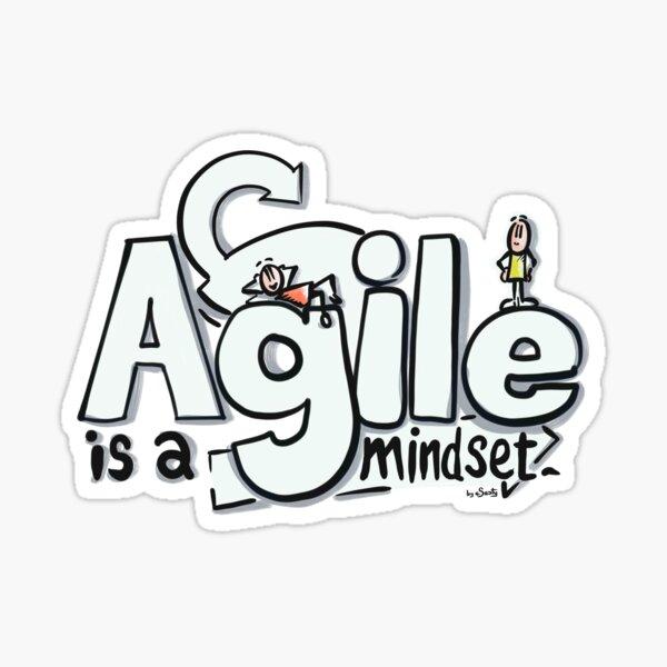 Agile is a Mindset Sticker