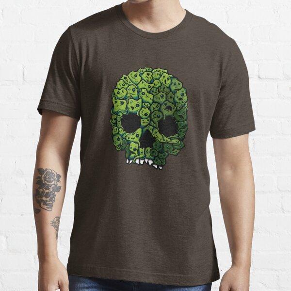 Green Skull Essential T-Shirt