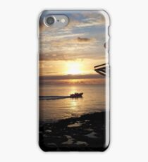 A beautiful Ibiza sunset iPhone Case/Skin
