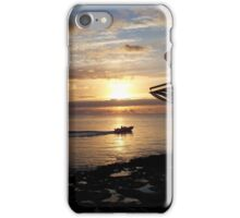A beautiful Ibiza sunset iPhone Case/Skin
