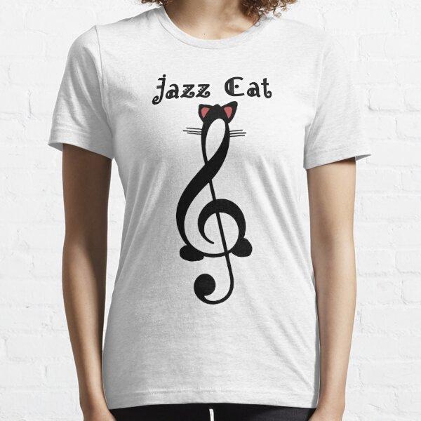 The Jazz Cat (w/text) Essential T-Shirt