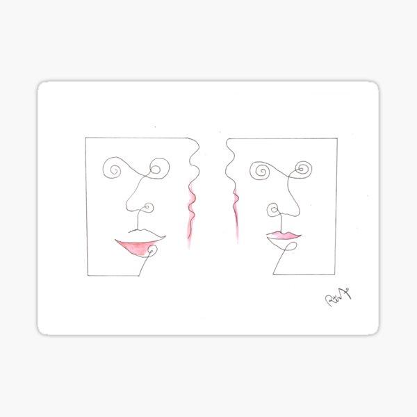 Gossip - Tangled Bodies Sticker