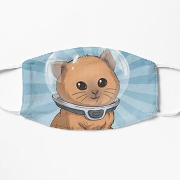 """Keep Calm Kitty"" Flat Mask"