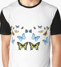 Colourfull Butterfiles  Graphic T-Shirt