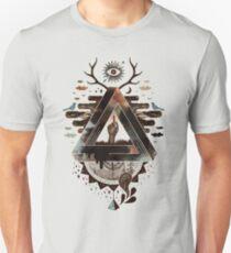 Alles Unmögliche Auge Slim Fit T-Shirt