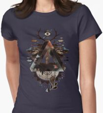 All Impossible Eye Womens Fitted T-Shirt
