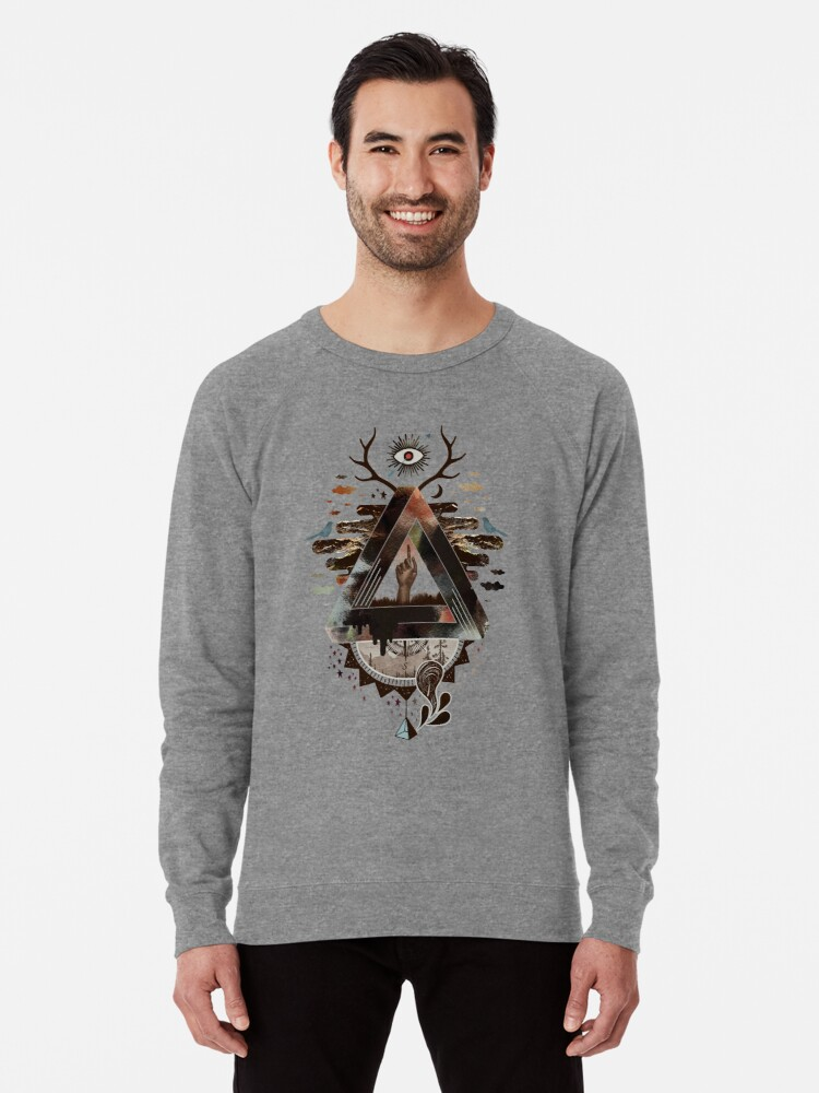 Alternate view of All Impossible Eye Lightweight Sweatshirt