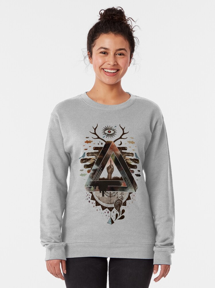 Alternate view of All Impossible Eye Pullover Sweatshirt