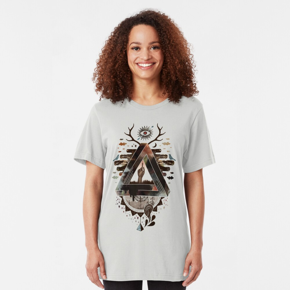 All Impossible Eye Slim Fit T-Shirt