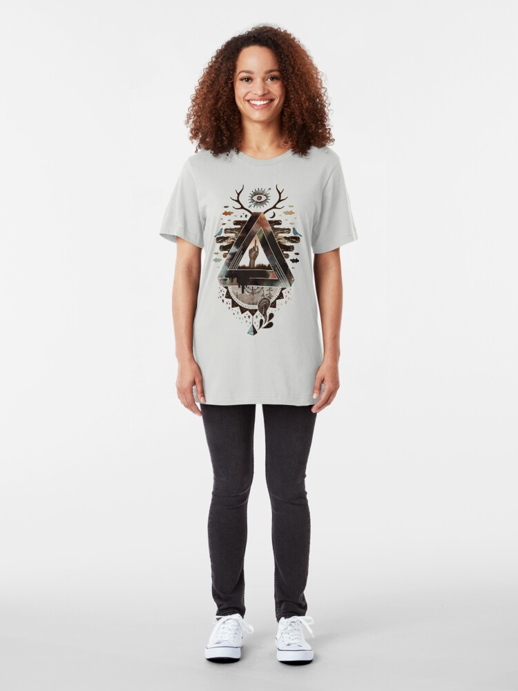 Alternate view of All Impossible Eye Slim Fit T-Shirt